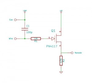 Radiation Detector Circuit