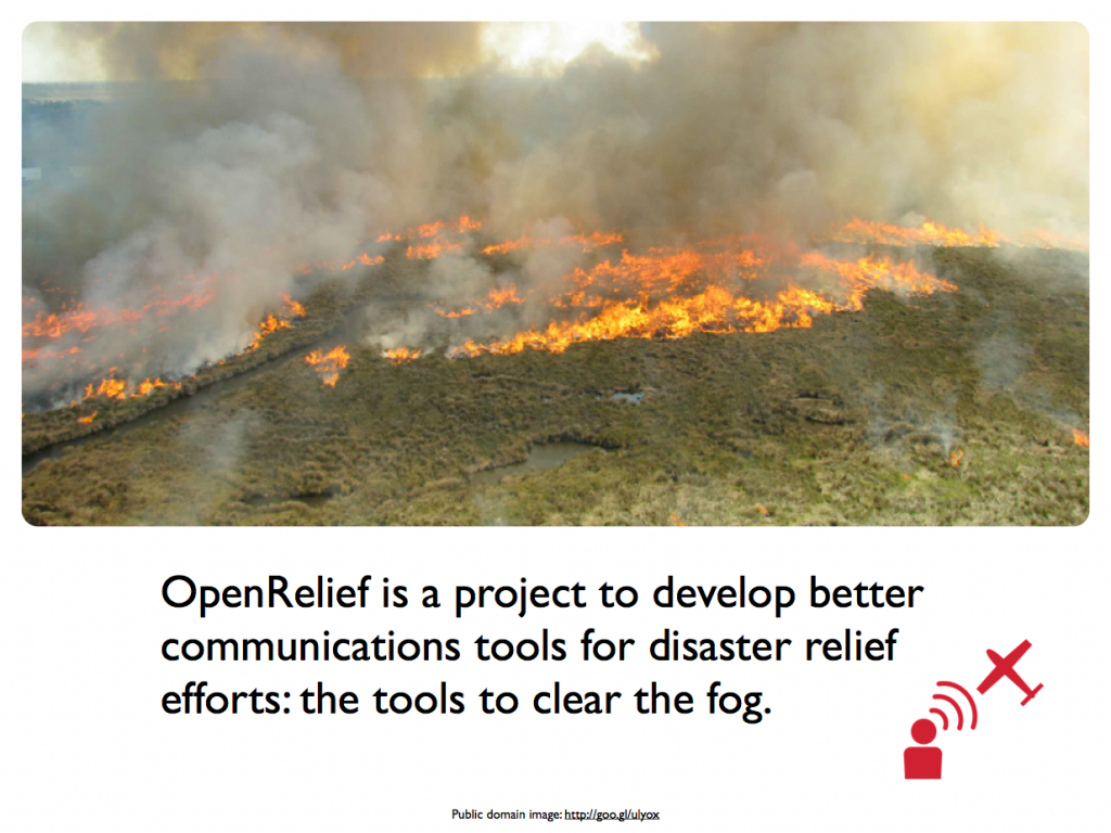 OpenRelief slides