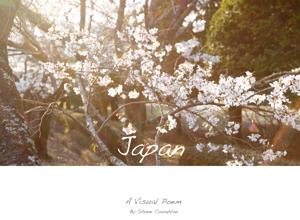 Japan - A Visual Poem Cover
